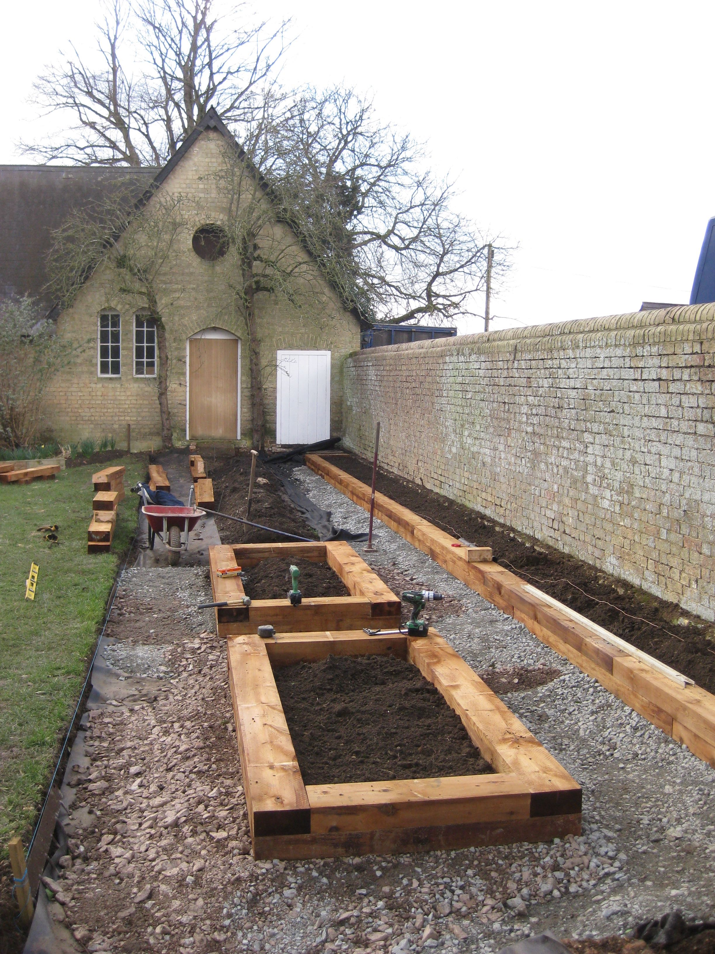 Two Veg Beds in