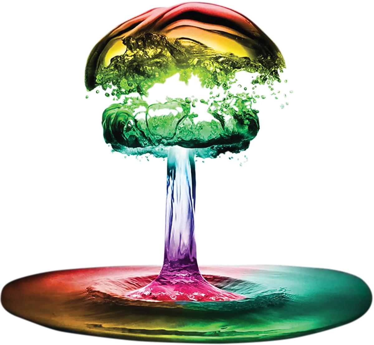 rainbow explosion flavor