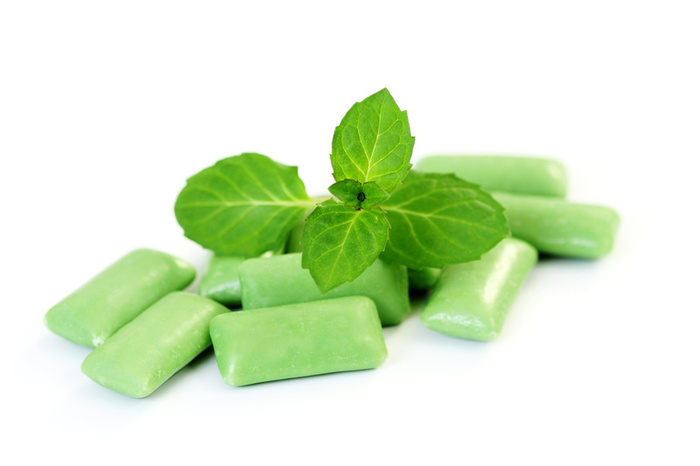 mint chewing gum flavor