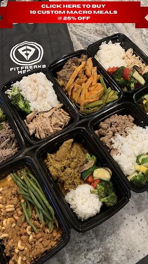 Click Here to Buy 10 Custom Macro Meals