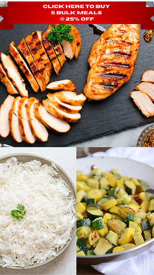 Click Here to Buy 5 Bulk Meals @ 25% Off