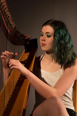 Bristol Harpist- Photoshoot