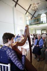 Bristol Harpist - Wedding Ceremony at Ellenborough Park Hotel, Cheltenham