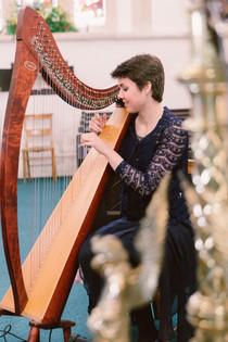 Bristol Harpist - Ceremony in Sopley, Dorset