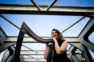 Gavin Jacob Power Photography - Bristol Harpist