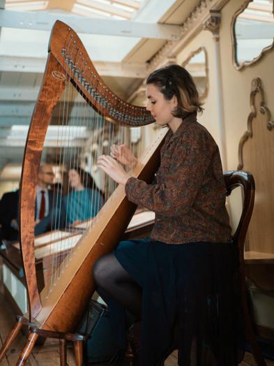 Bristol Harpist - Wedding on the SS Great Britain
