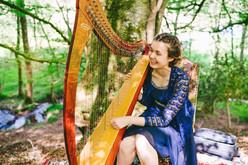 Bristol Wedding Harpist - Wedding in Dulverton, Devon