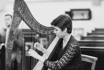Bristol Wedding Harpist - Ceremony in Sopley, Dorset