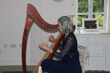 Bristol Harpist - Wedding Ceremony in Compton Acres, Poole