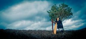 Bristol Harpist - Photoshoot