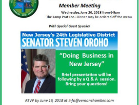 Doing Business In New Jersey - June 20, 2018