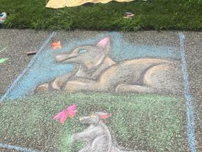 Sidewalk Chalk Art Festival - Maple Grange Park - June 22, 2019