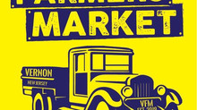 FARMERS MARKET - Vernon Municipal Lot - May 22, 2021 - 9 am to 1 pm