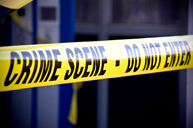 police tape, biohazard cleanup after a death, how to clean a property after a death, death in a rental property, crime scene cleanup