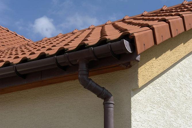 garage water damage gutters