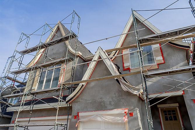 stucco full house application, repair water damaged stucco, stucco water damage causes, how to fix stucco, signs of water damage in stucco