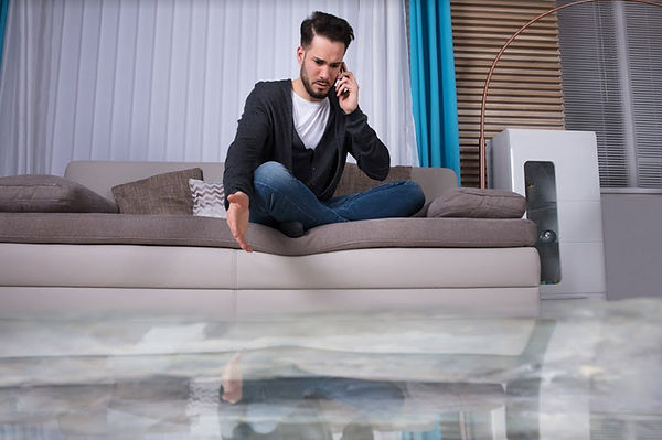 Temecula Slab Leak Damage Cleanup
