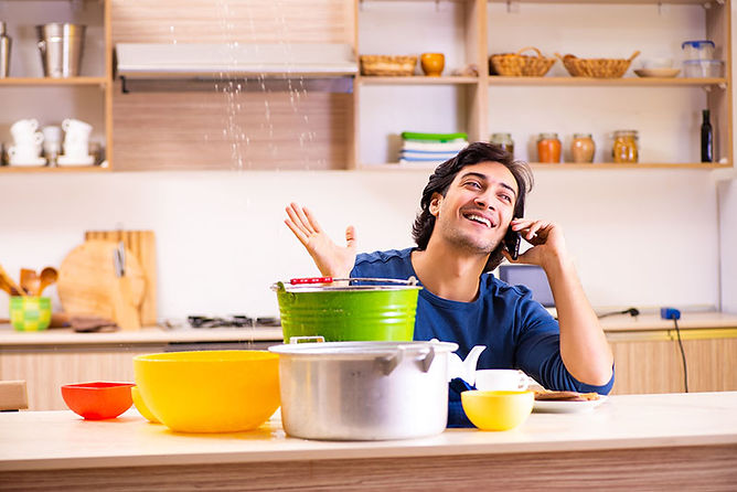 happy man water damage, water damage myths, water damage mitigation mistakes, what not to do when you have water damage, how to handle water damage