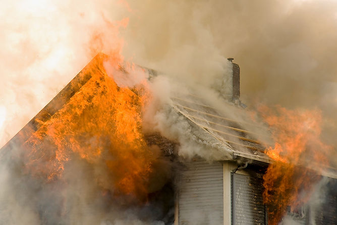 house on fire, what to do after a house fire, common causes of house fires, steps after a house fire, how to recover from a house fire