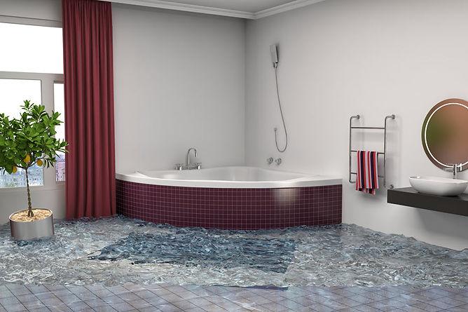smart home innovations floded bathroom