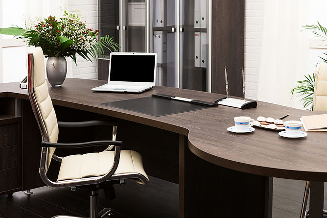 Employee Positive For COVID 19 Office Desk