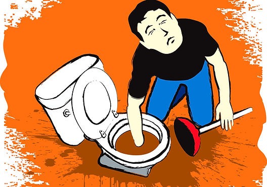 Home sewage cleanup