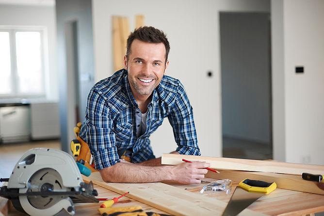 smiling contractor, water damage build back and reconstruction, fire damage reconstruction, water damage restoration, fire damage restoration, professional damage restoration