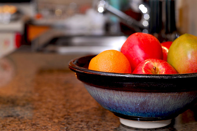 Add Color to Your Kitchen Bowl Of Fruit