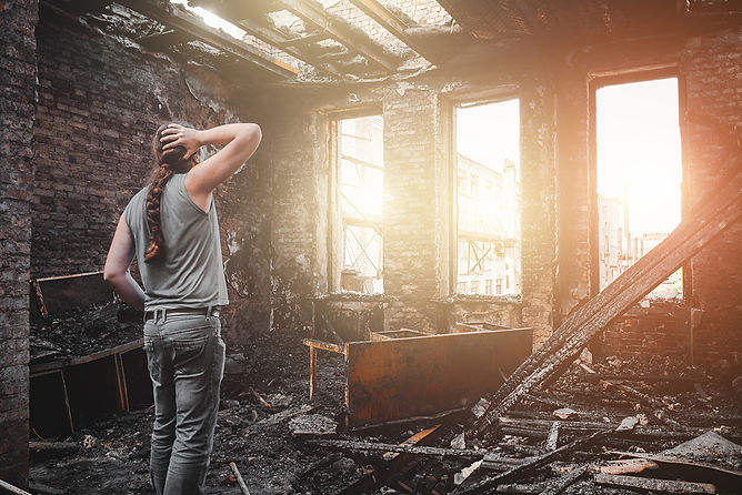man confusesd after fire, fire damage repair and restoration, fire damage restoration steps, professional fire damage restoration, fire damage repair, smoke damage repair, smoke damage restoration