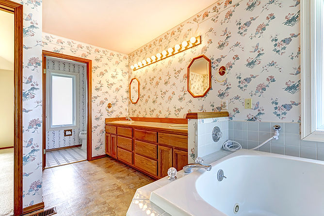 Things To Never Do To Your House Bathroom Wallpaper,  things to never do to your house, what not to do to to your house, what not to do at home, home maintenance mistakes, home care mistakes