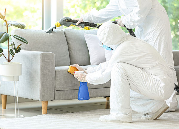 biohazard cleanup after a death, how to clean a property after a death, death in a rental property, crime scene cleanup