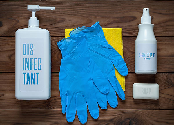 CDC Approved Cleaning Products