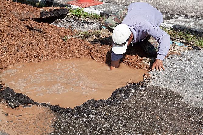 Causes Of Water Damage Broken Water Main,  causes of water damage, unpredictable causes of water damage, do I have water damage, source of water damage, source of leaks, causes of leaks