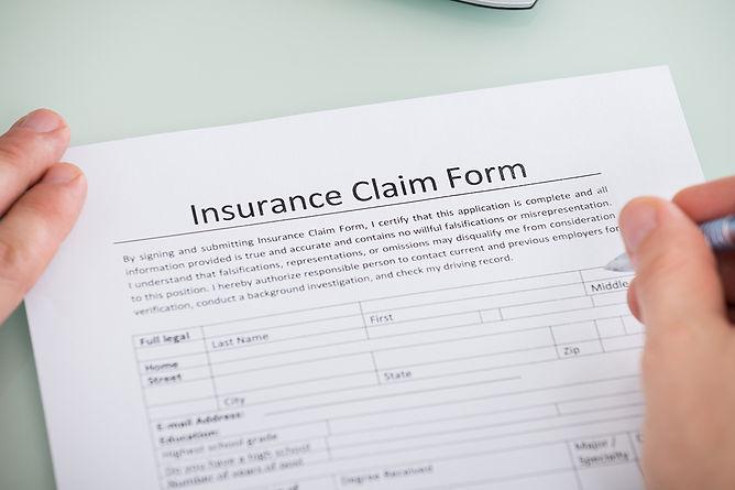 insurance claim form, water damage build back and reconstruction, fire damage reconstruction, water damage restoration, fire damage restoration, professional damage restoration