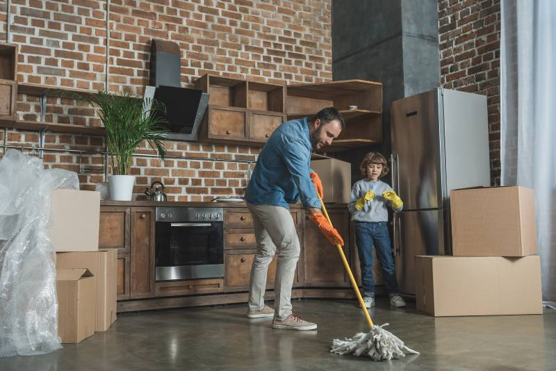 Move-In Cleaning Guide, tips to move-in cleaning, how to clean a new home before moving in, move-in cleaning checklist, move-in cleaning services