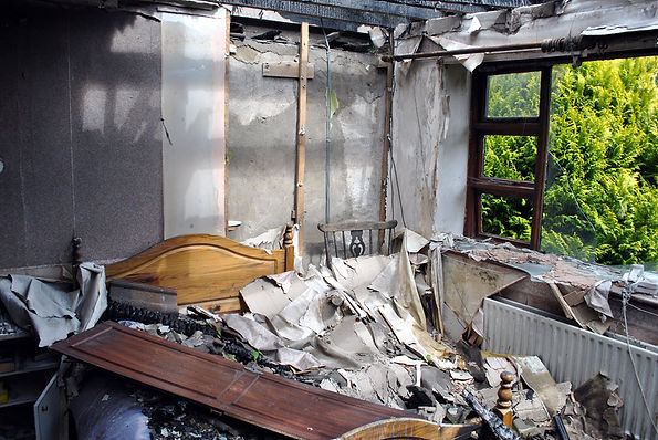 hoarders and property management fires
