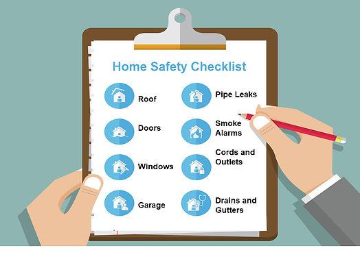 home safety checklist prevention