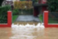 garage water damage sandbags