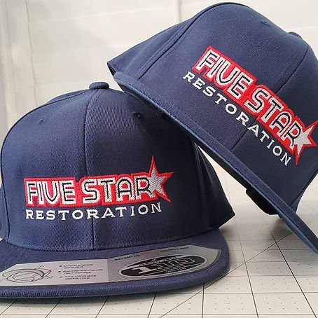 october business of the month hats, promotional items, business gifts, trade show items, Five Star business of the month,