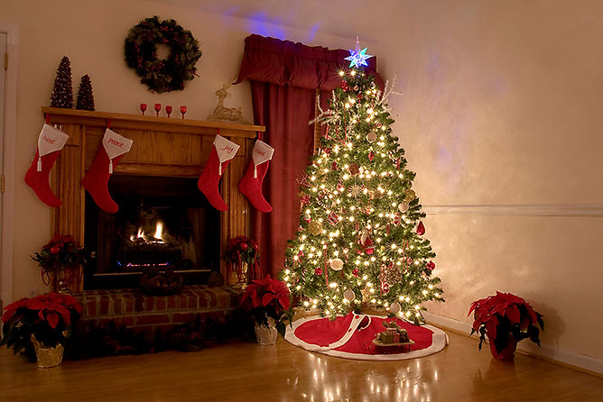 lit christmas tree, what to do after a house fire, common causes of house fires, steps after a house fire, how to recover from a house fire