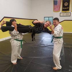 Hapkido Class at Burke