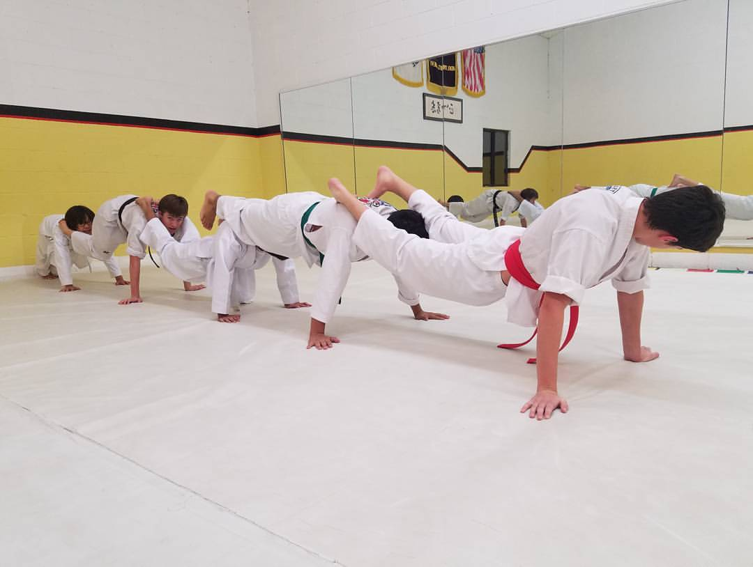 Strength training in Taekwondo