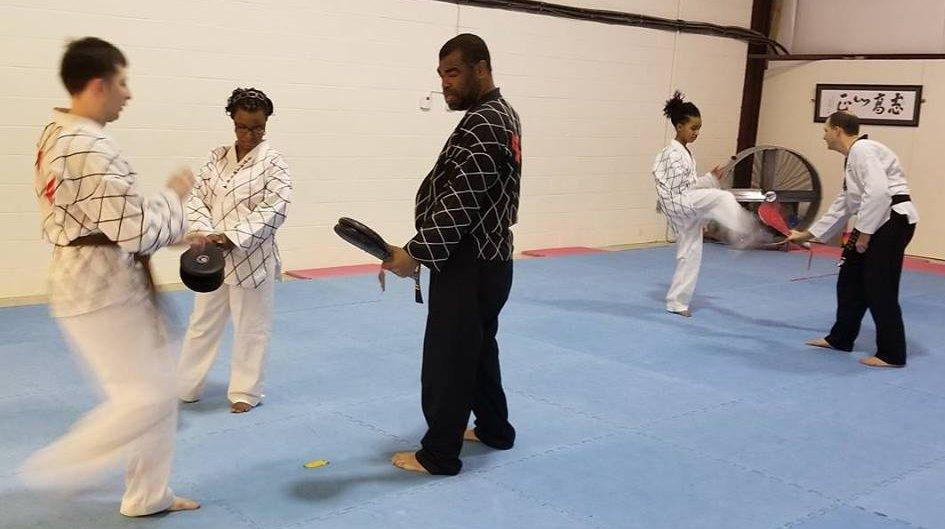 Hapkido Class at Manassas