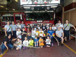 Field trip to the Fire Station, Camp