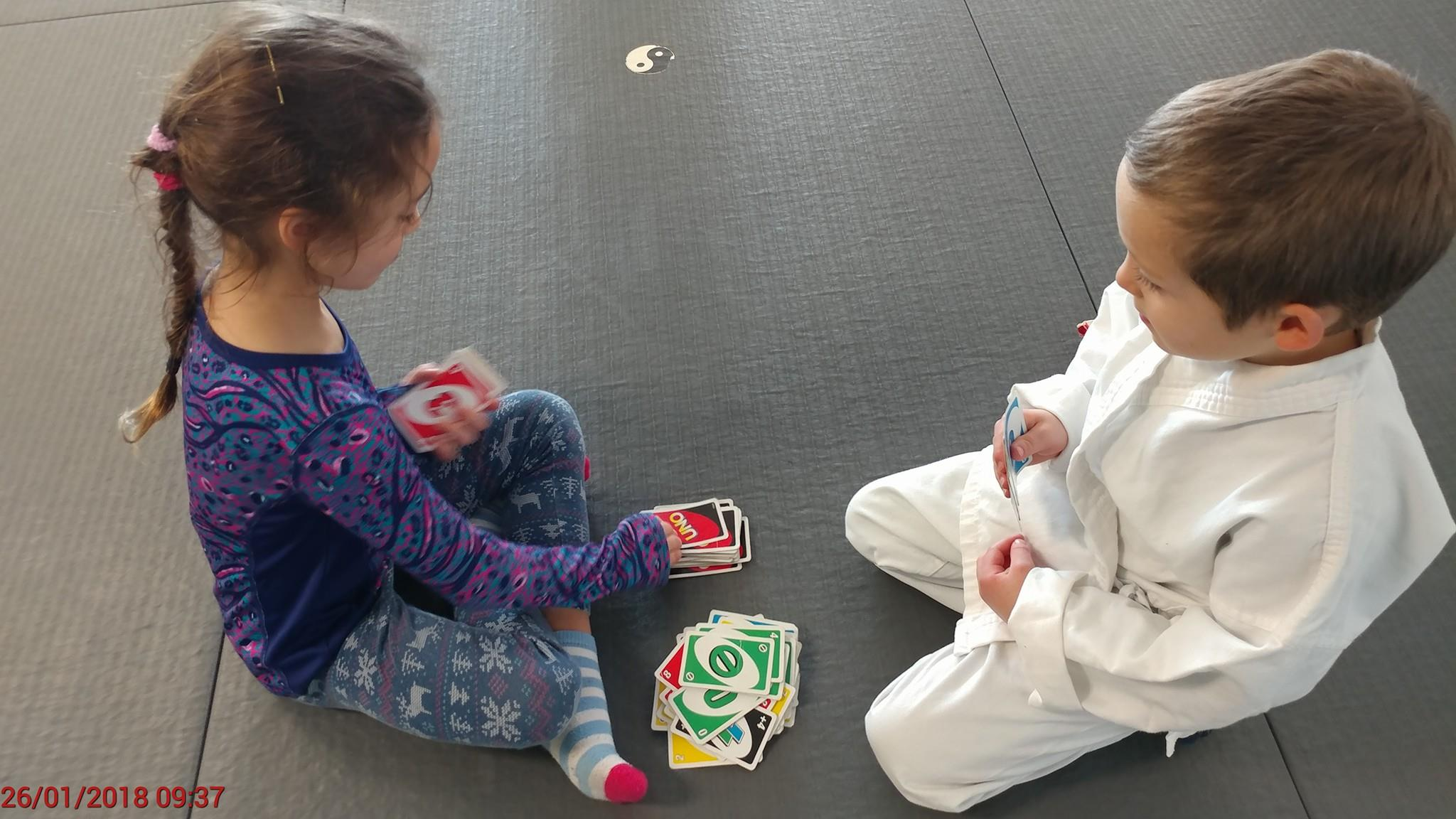 Uno; Board Games at Camp!