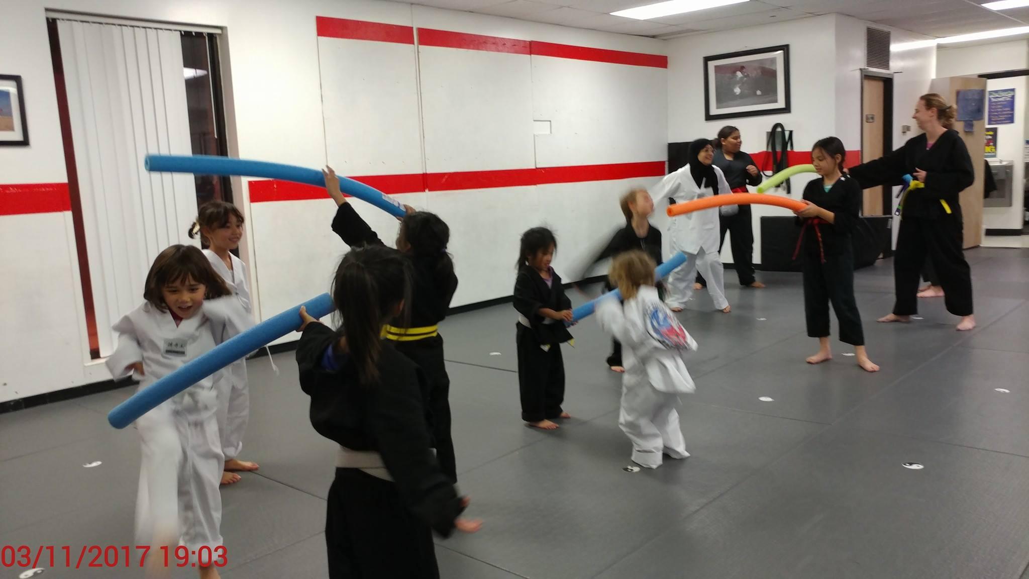 Women only Taekwondo