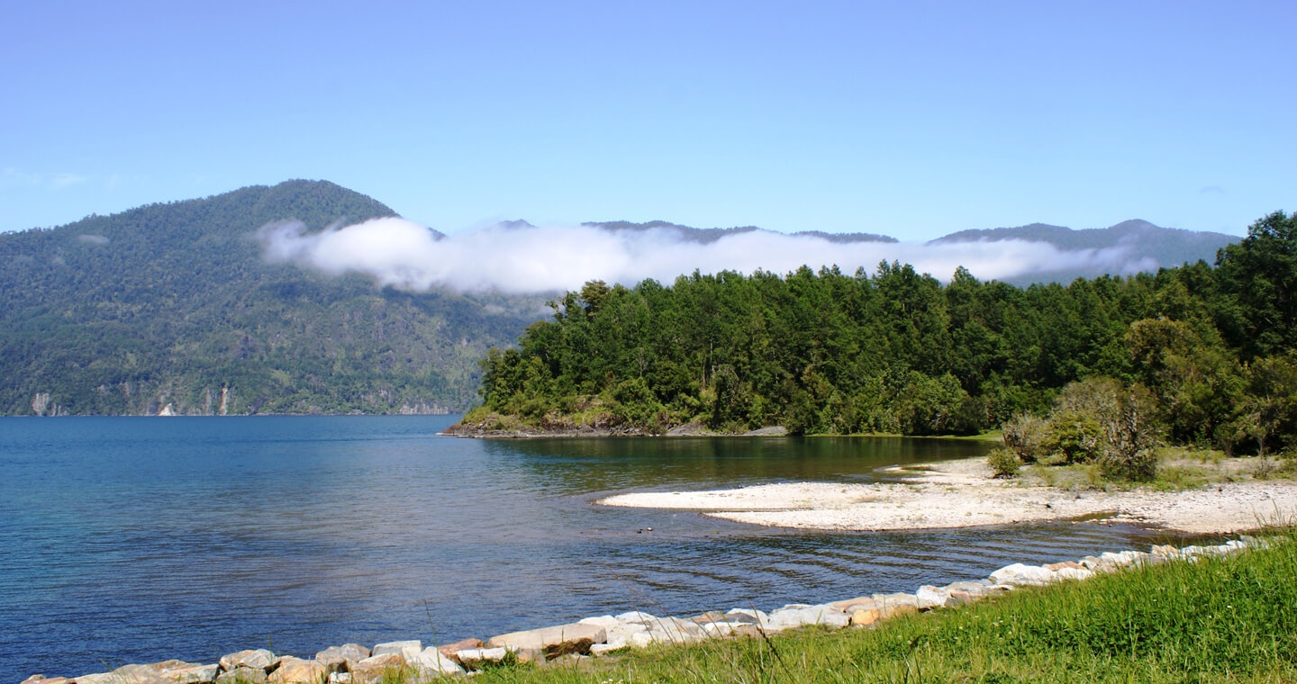 Playas en Panguipulli
