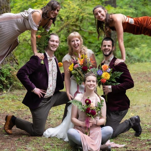Acro Bridal Party