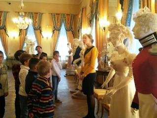 3 класс в Государственном музее А.С. Пушкина
