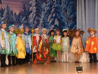 Новогодний спектакль в детском саду